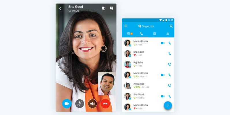 Microsoft Announces Skype Lite For Low Connectivity Areas Launching In India First Microsoft Teknologi Aplikasi