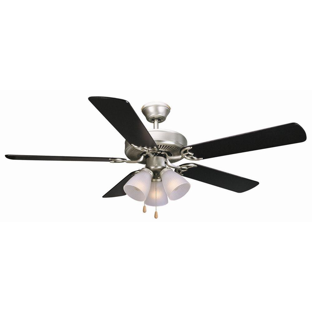 Design House Millbridge 52 In Oil Rubbed Bronze Ceiling Fan With Light Kit 153932 The Home Depot Ceiling Fan Ceiling Fan With Light Fan Light