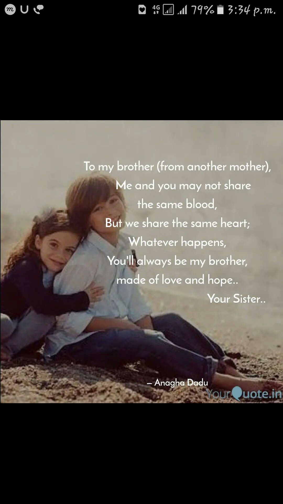 Pin By Rubika Marimuthu On Brother Sister Brother Quotes Little Brother Quotes Big Sister Quotes