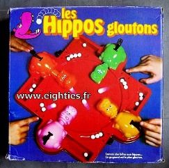 hippo gloutons jeu des annees mes souvenirs 80 39 s. Black Bedroom Furniture Sets. Home Design Ideas