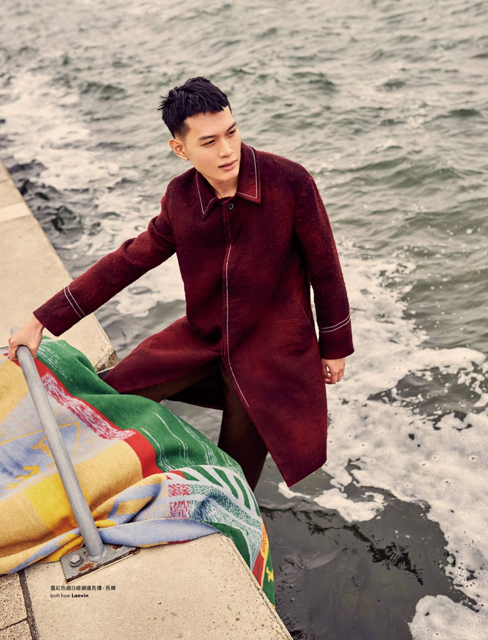 Lukasz Wolejko-Wolejszo photographs Pace Chen in Lanvin for ELLE Men HK styled by Fabiana Vardaro. Follow Lukasz's latest work on Facebook, Instagram and Twitter. You can now start pinning Lukasz's photos on our Pinterest boards while mention his name.