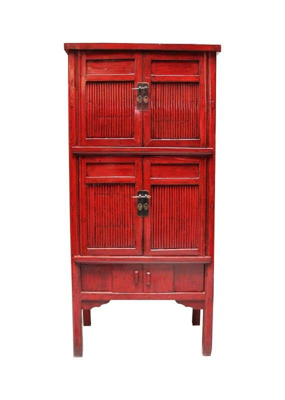 Ulmenholz Schrank Im Bambus Design Der Hochzeitsschrank Ist Ein Blickfang In Rot Asienlifestyle Hochzeitsschrank Asiatische Mobel Schrank