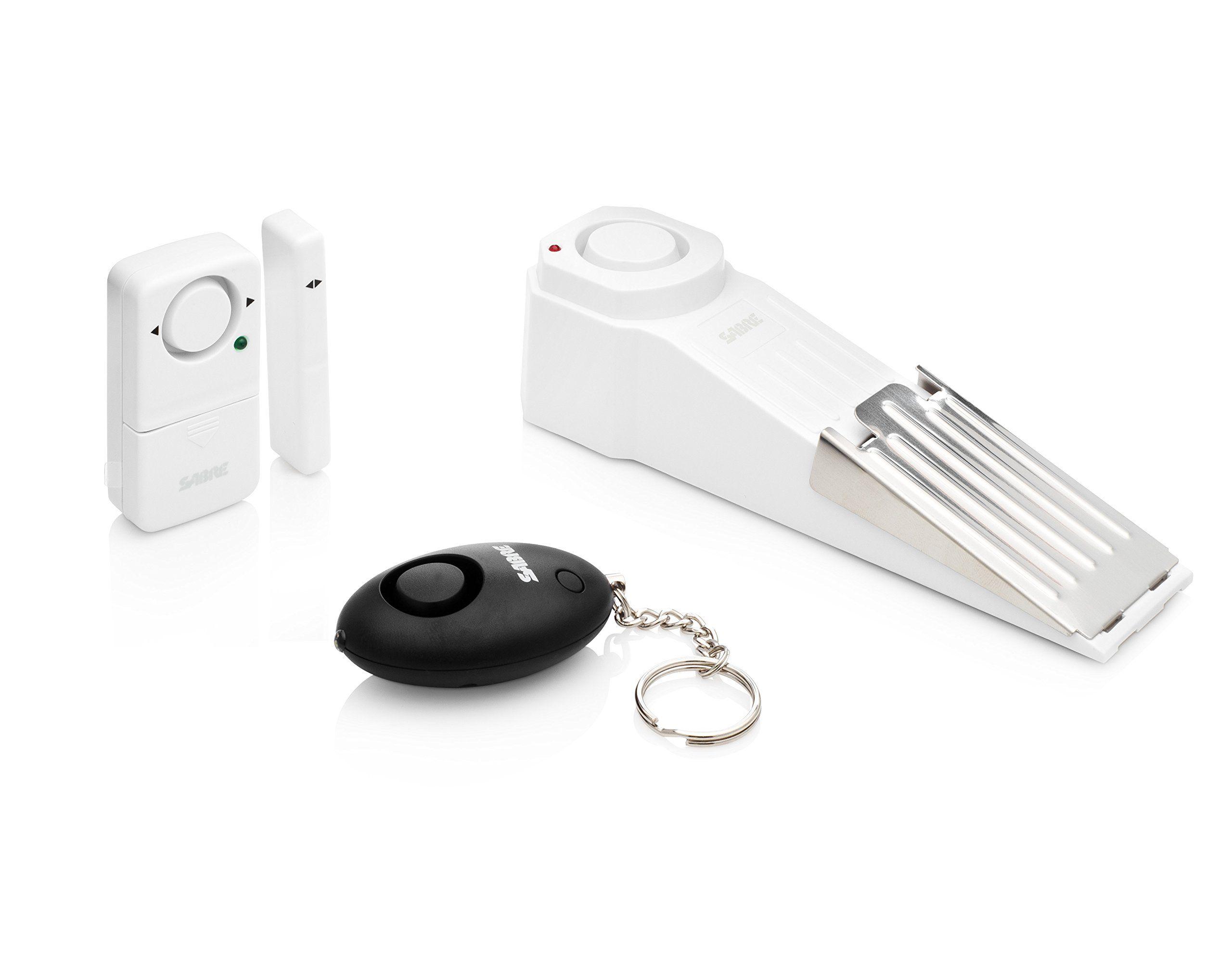 Dorm / Apartment Security Kit by SABRE - Includes Door Stop ...