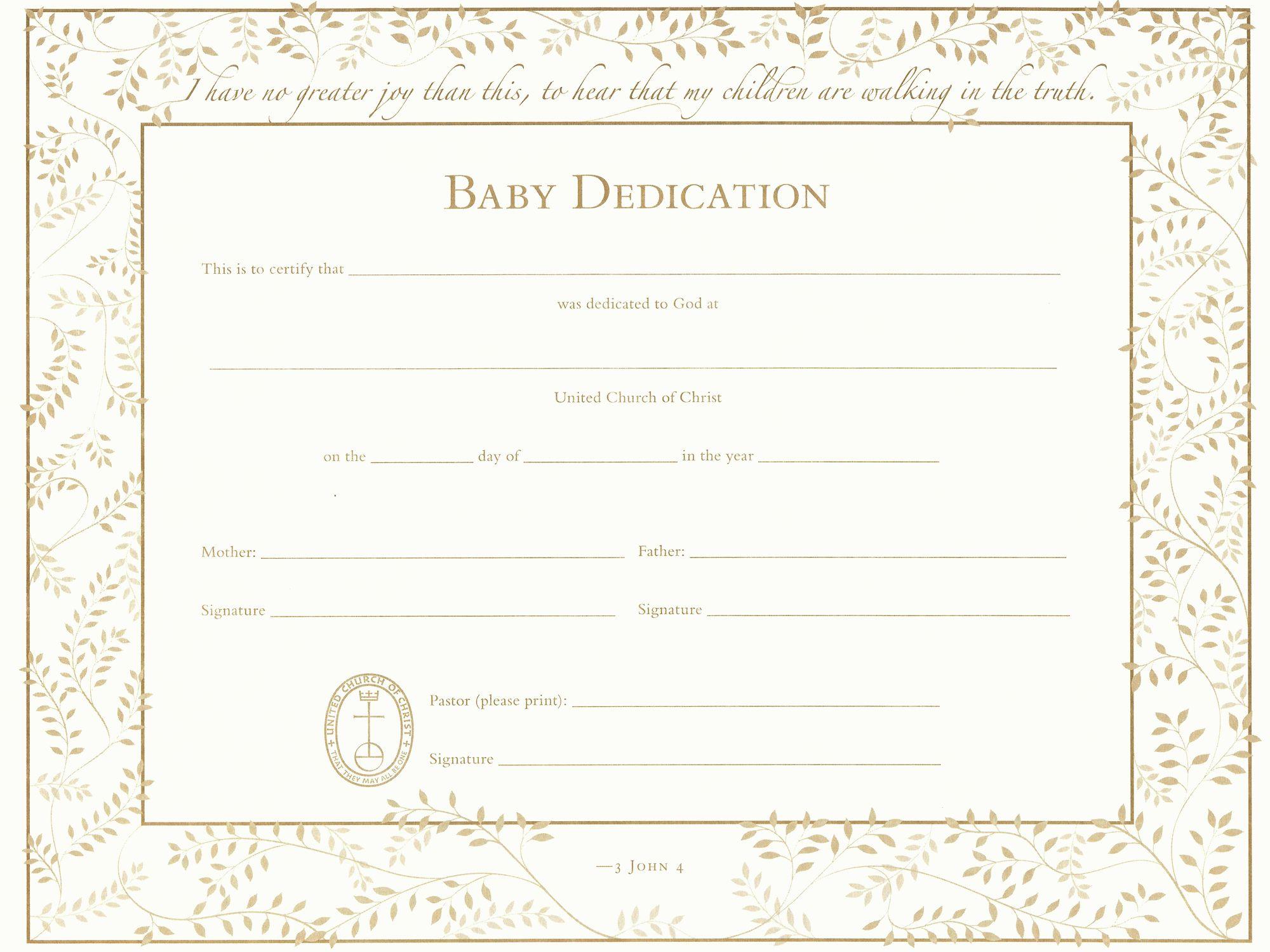 The Appealing 027 Template Ideas Baby Dedication Certificate Wonderful Inside Baby Dedication Baby Dedication Certificate Baby Dedication Certificate Templates Baby dedication certificate templates free