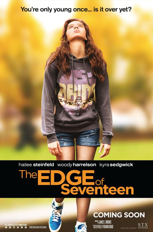 Découvrez l'affiche du film The Edge of Seventeen réalisé par Kelly Fremon Craig avec Hailee Steinfeld, Haley Lu Richardson.