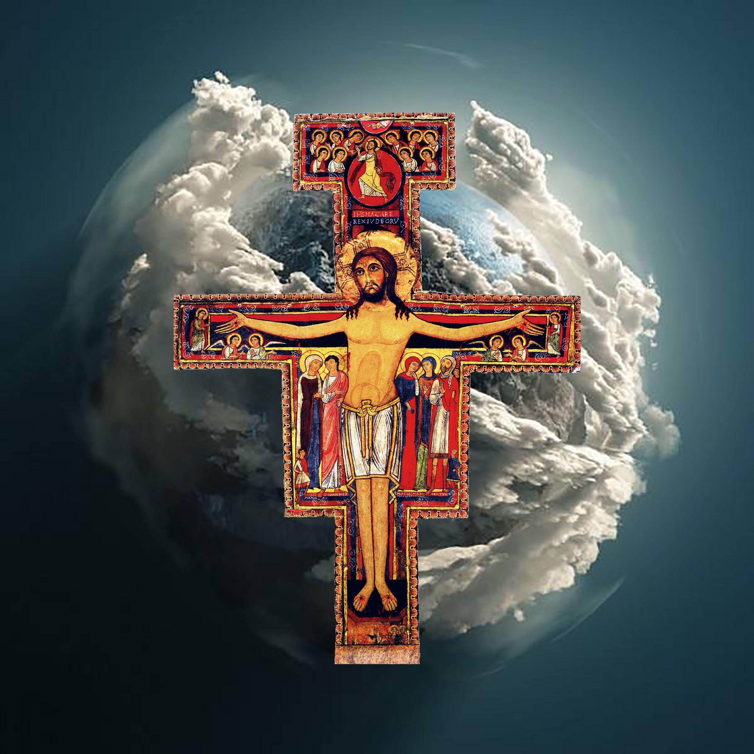 San Damiano Cross Ofs San Francisco De Asis Francisco De Asis