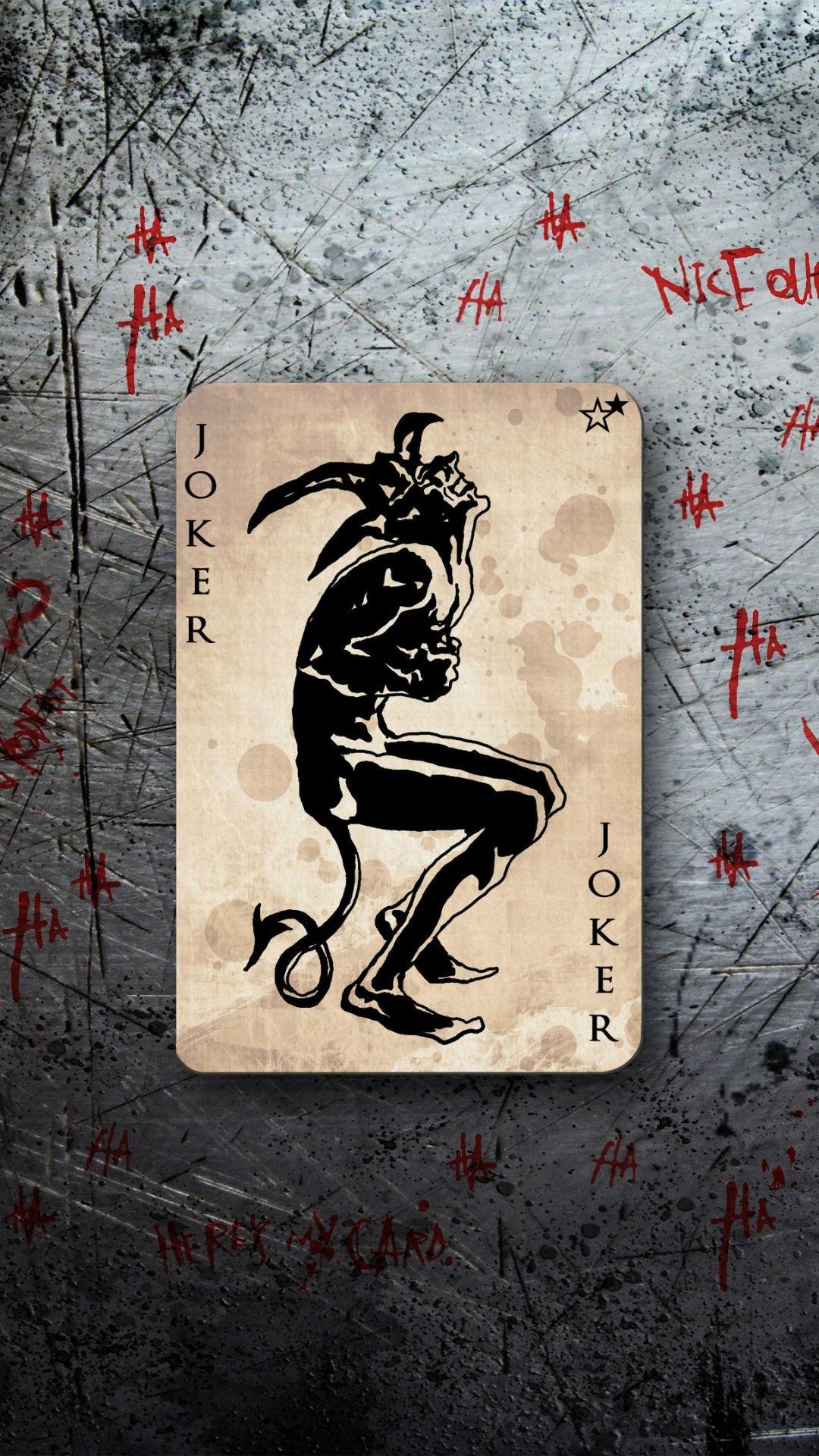 Are not batman joker card wallpaper topic