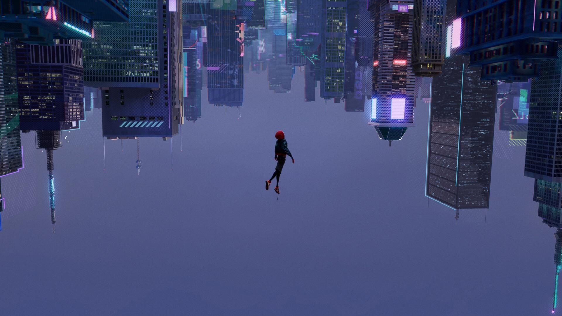 Into The Spider Verse 1920 X 1080 Animated Spider Spider Verse Miles Morales Spiderman