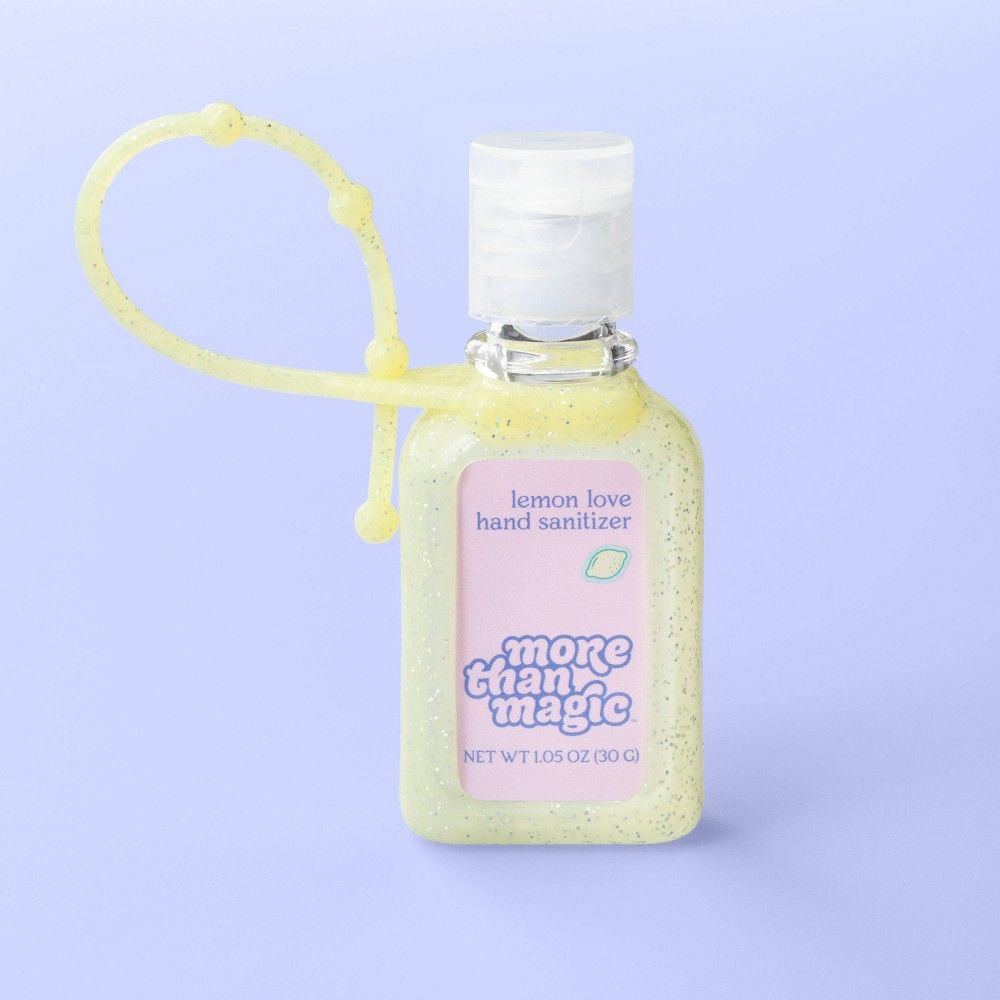 Hand Sanitizer Carrier 1 05oz More Than Magic Lemon Love In