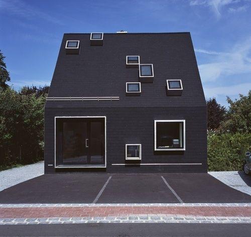 das schwarze haus archtectr pinterest schwarzes haus haus und architektur. Black Bedroom Furniture Sets. Home Design Ideas