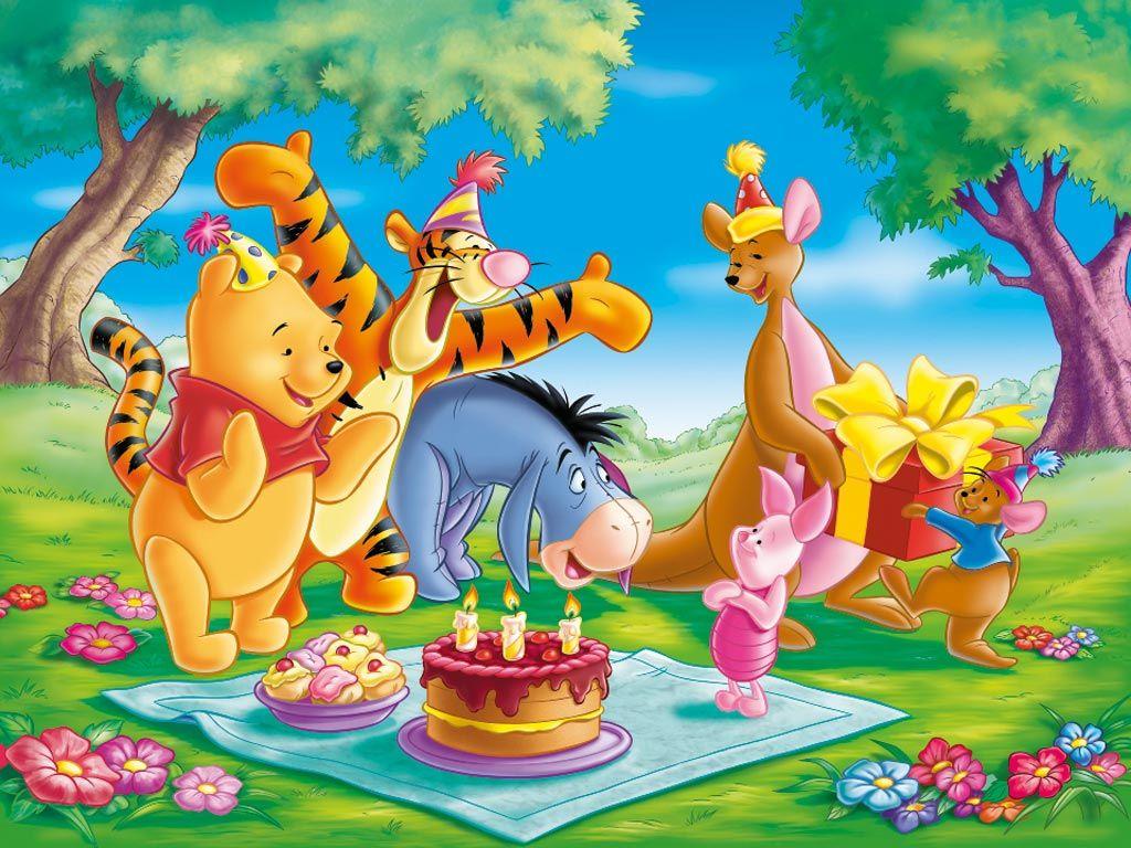С днем рождения открытка мультфильм