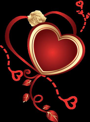 St Valentin Coeurs Roses Dessin Saint Valentin Clip Art