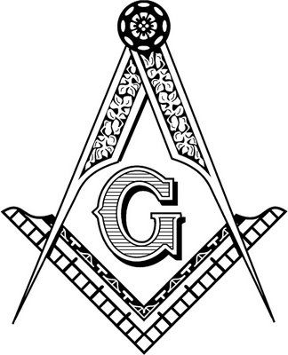 Square Compass Freemasonry Esoteric Rose Cross Order