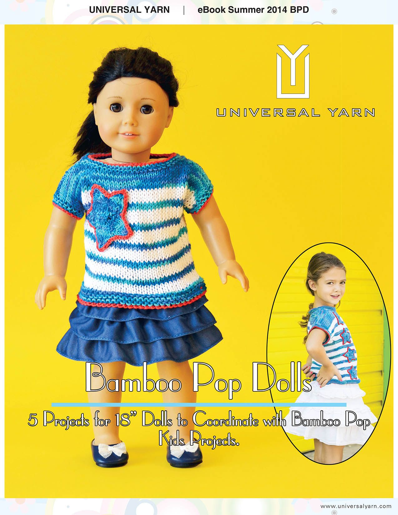 Free knitting patterns five patterns for 18 dolls that match free knitting patterns five patterns for 18 dolls that match the popular bamboo pop bankloansurffo Choice Image