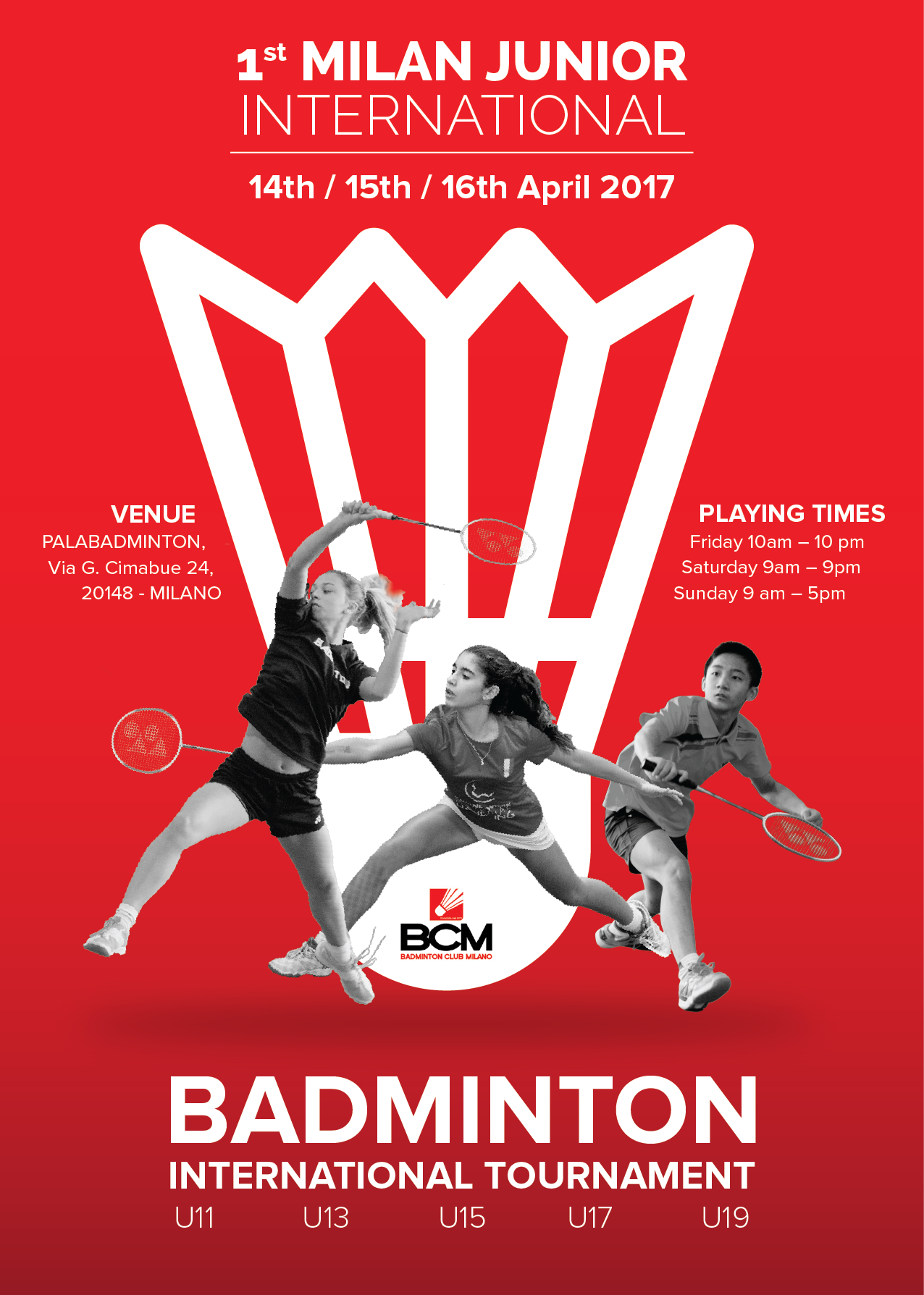 badminton International youth and junior tournament