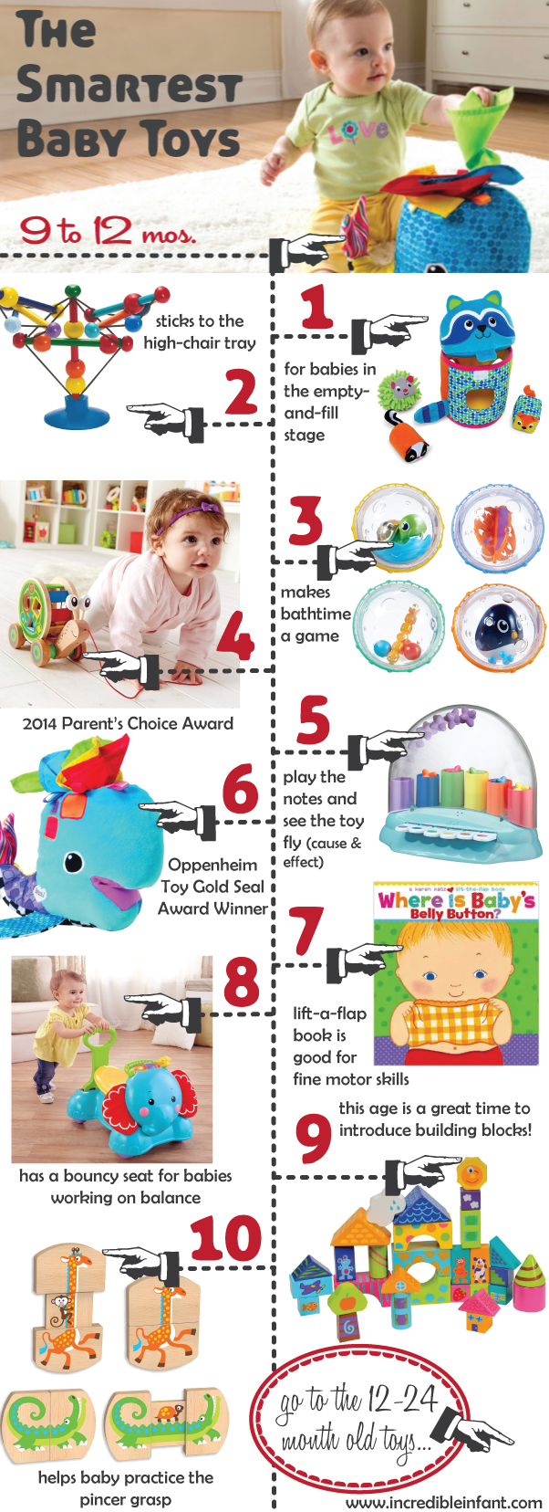 The Smartest Baby Toys for Ages 9-12 Months