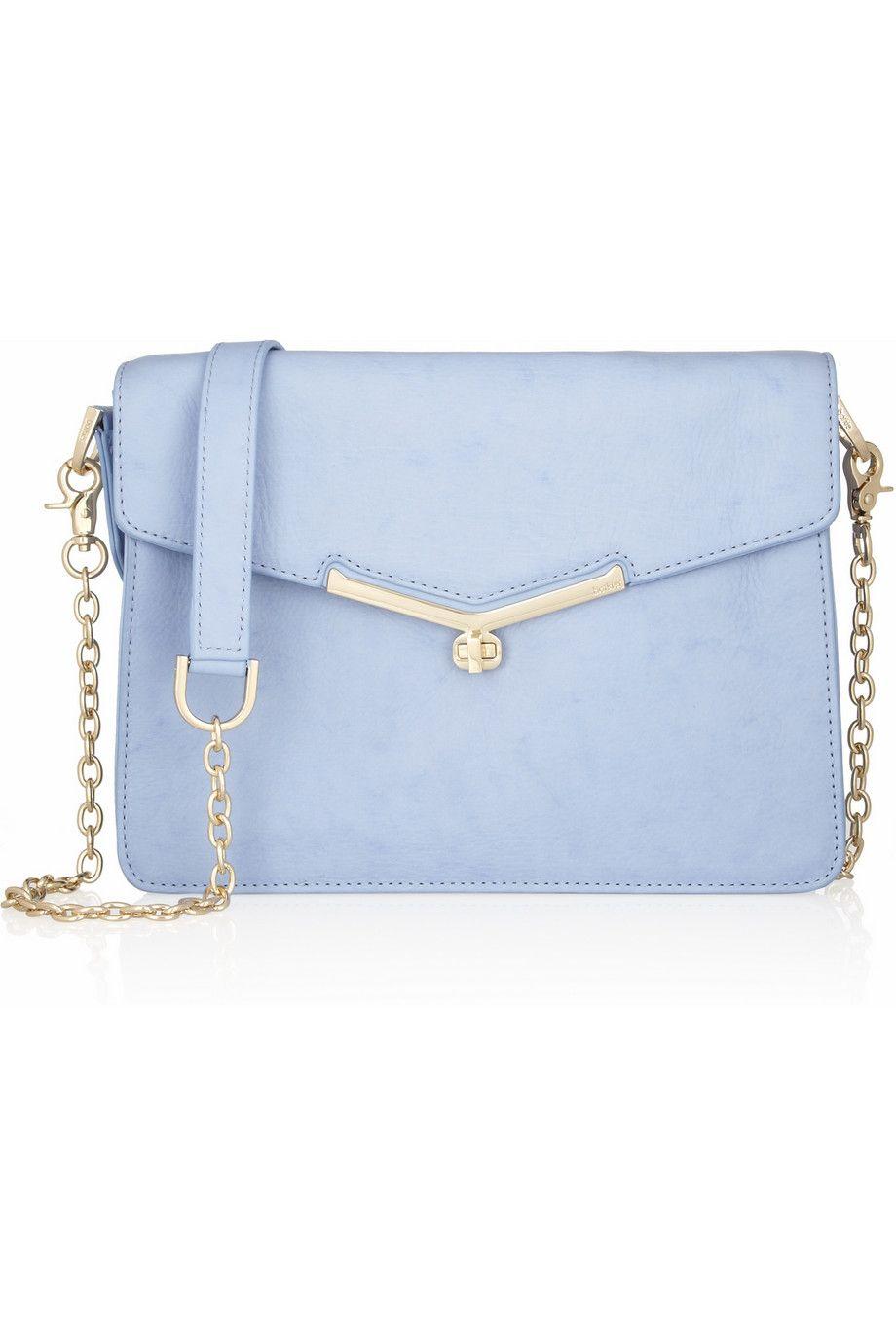 Valentina leather shoulder bag by Botkier