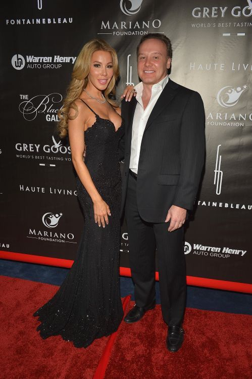 Real Housewives of Miami, Lisa with her husband/plastic