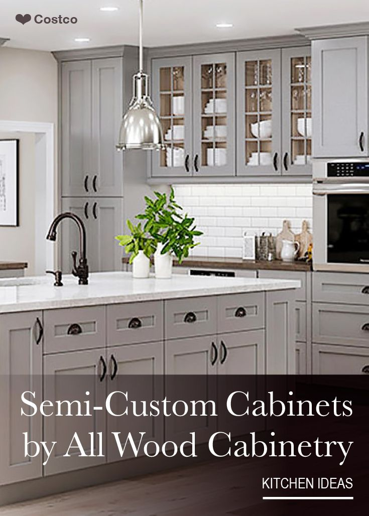 Semi Custom Kitchen Cabinets: Semi-Custom Kitchen And Bath Cabinets By All Wood