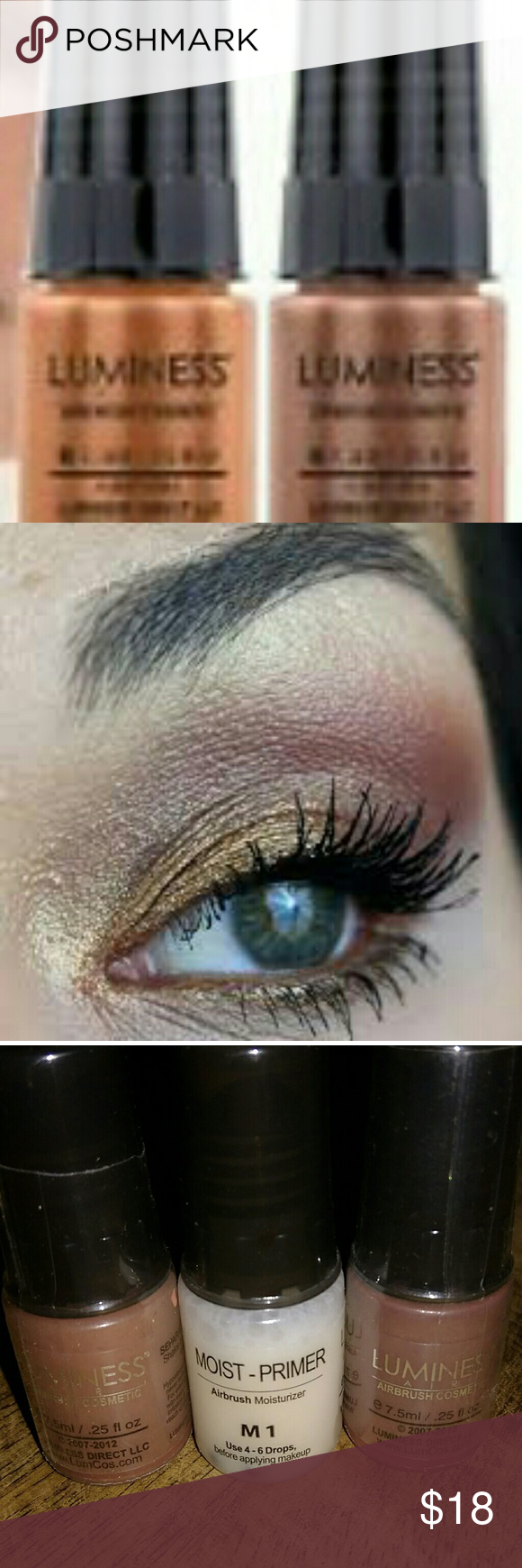 Luminess Air Airbrush Eyeshadow and Primer Eyeshadow