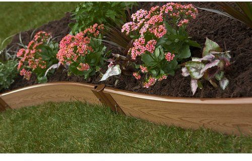 Tool Free Classic Sienna Two Inch Series Curved Backyard Border Kit Building A Raised Garden Garden Beds Raised Garden Beds