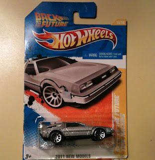 DeLorean Hot Wheels Car