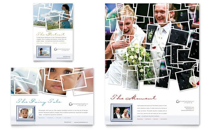 Photographer Flyer And Ad Template Design By Stocklayouts