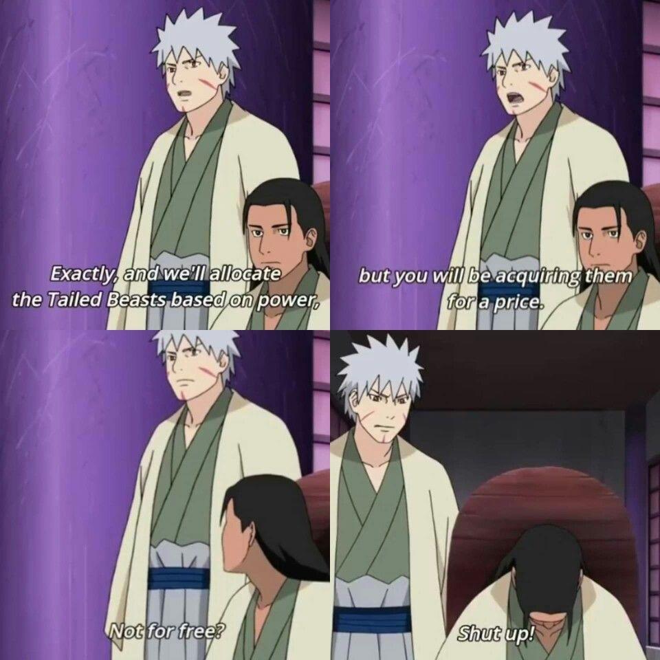 Tobirama being Tobirama in 2020 Naruto shippuden anime