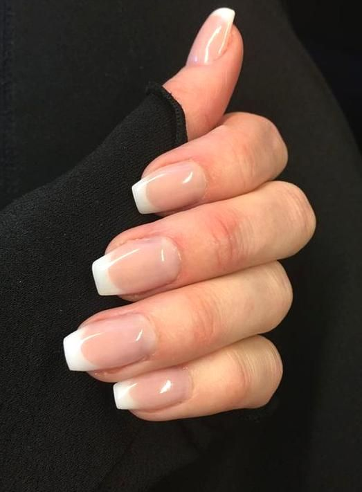Pin By Ireland Dahlia On Nail Art In 2020 French Manicure Acrylic Nails French Manicure Nails French Nails