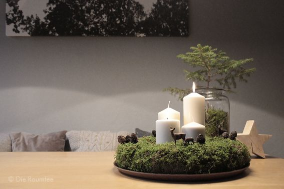 ii advent die raumfee natural christmas xmas and wreaths. Black Bedroom Furniture Sets. Home Design Ideas
