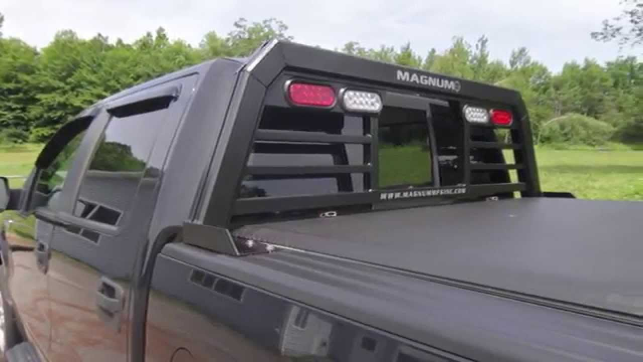 Magnum Headache Rack With Lights Install On 02 Current Ford F 150 Headache Rack Trucks Truck Accessories Trucks