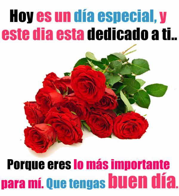 Imagenes De Rosas Rojas Con Frases Felicitaciones Pinterest