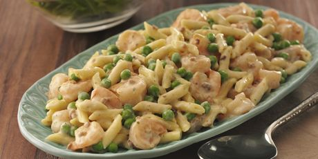 Creamy Shrimp Carbonara Recipe Carbonera Recipe Food Network