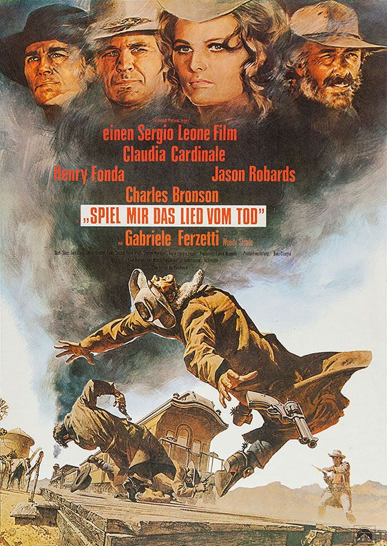 German Poster For Once Upon A Time In The West Sergio Leone
