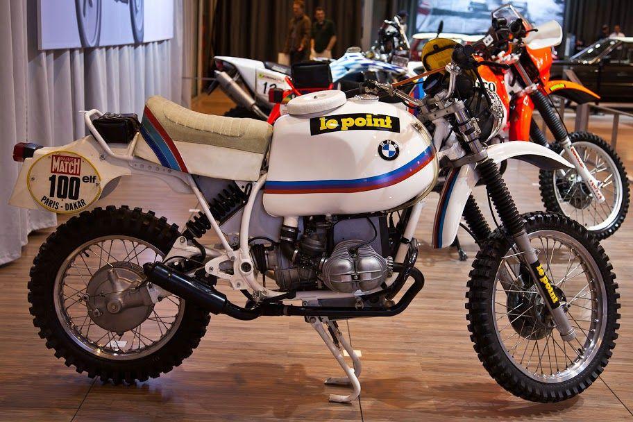 BMW GS 800 de Huber Auriol - Paris Dakar 1981