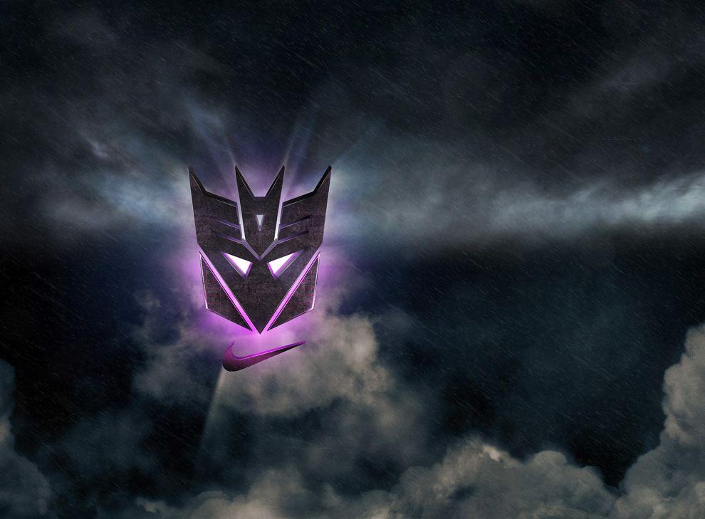 Nike Megatron Rises Pack x Calvin Johnson x Hasbro Toys