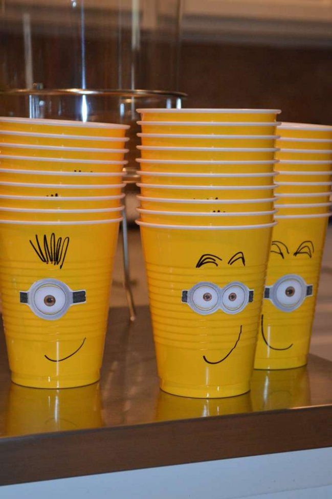 ideas para decorar fiesta con minions