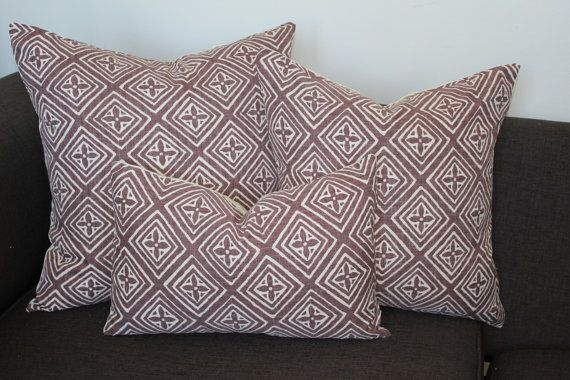 Etsy Quadrille pillows