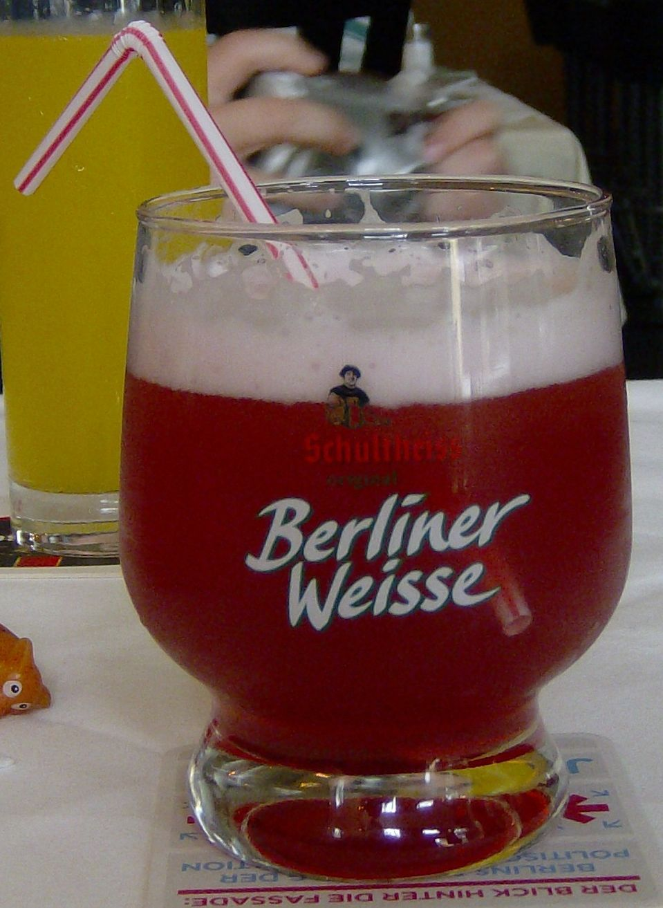 The Only Beer I Really Like A Must Have In Berlin Berliner Weisse
