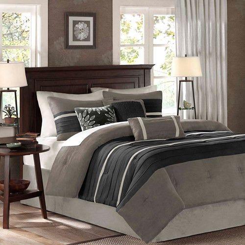 Palmer Black Comforter Set