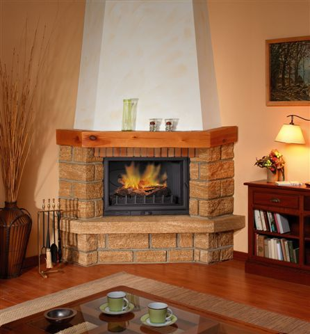 Chimeneas aguere chimenea chime for Casas rusticas de ladrillo