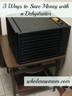 How and Why to Dehydrate – Part One (3 Ways to Save Money Dehydrating)