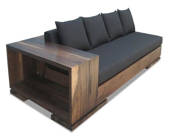 Simple Wooden Sofa Designs Ideas