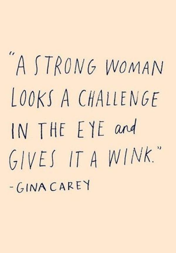 Gina Carey Quote