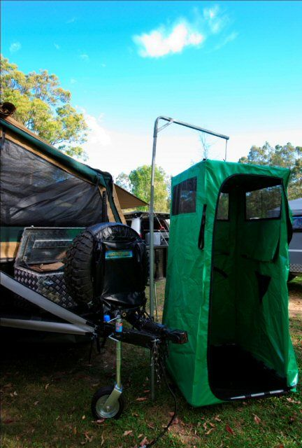 The All Terrain Ensuite Shower tent Where was this when I ...