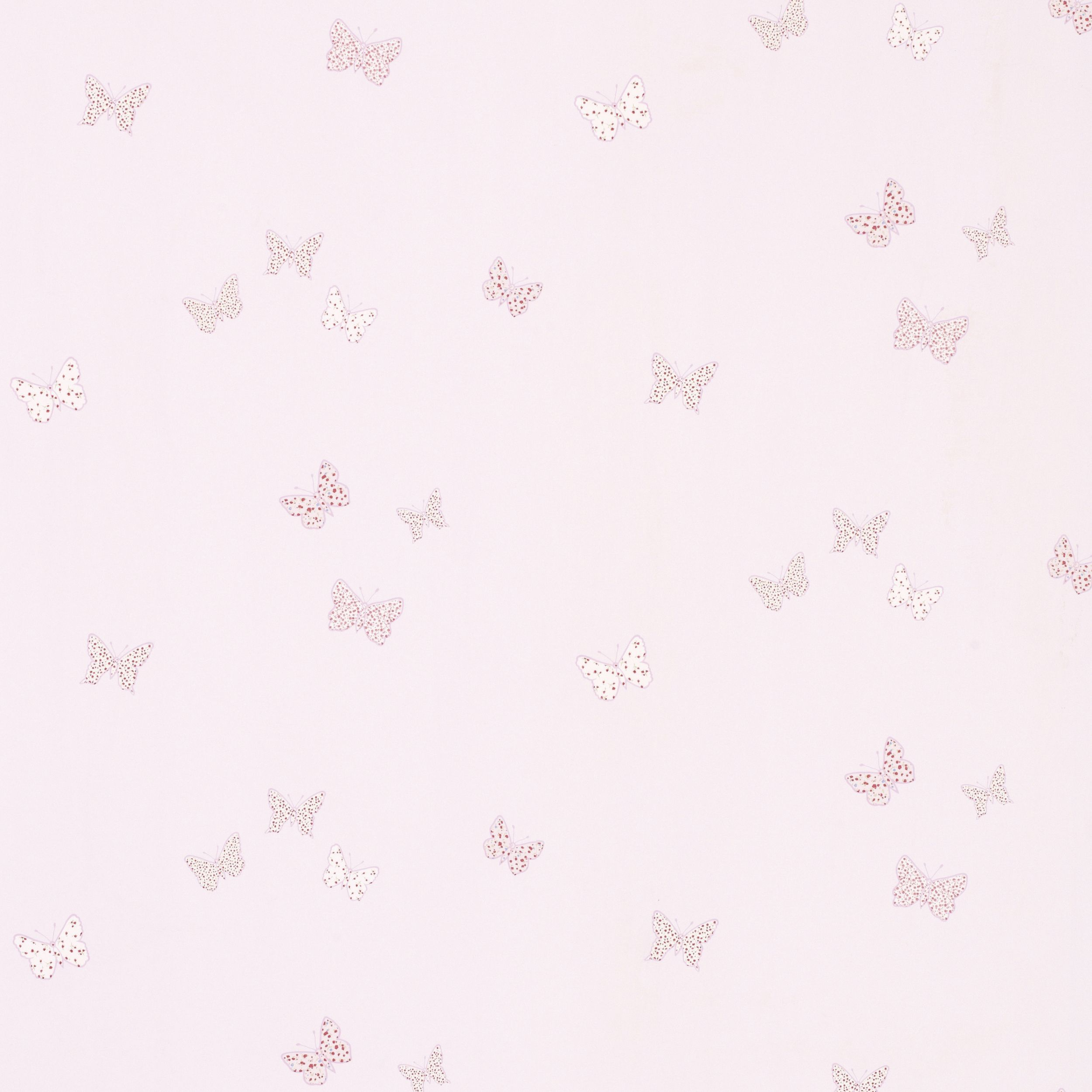 Bella butterfly childrens wallpaper pink at laura ashley for Kids room wallpaper texture