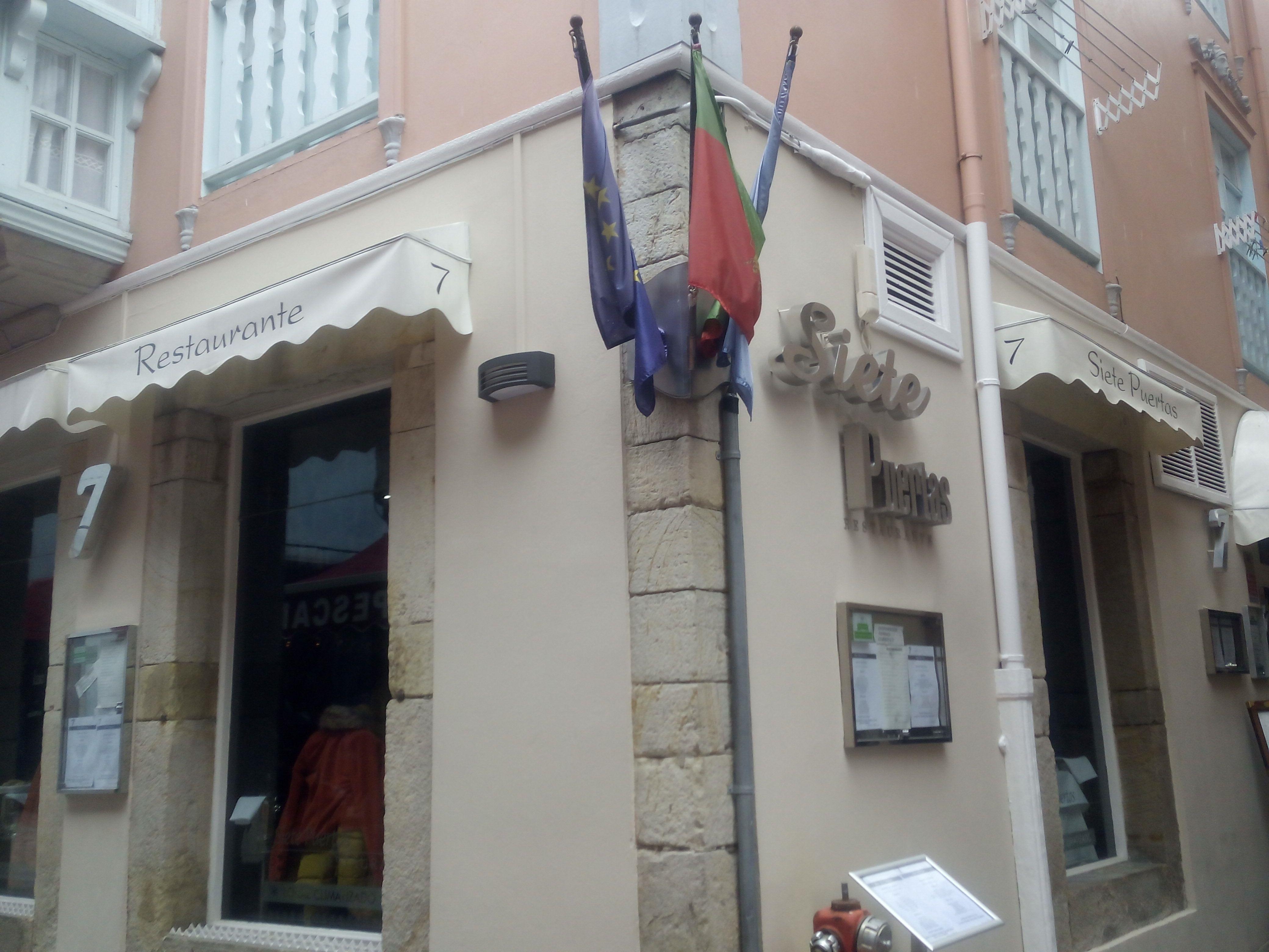 Restaurante Siete Puertas de Llanes, Asturias