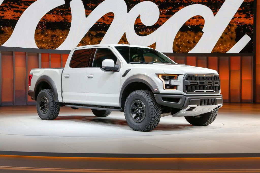 2017 Ford Raptor Supercrew At The Detroit Autoshow Ford Raptor