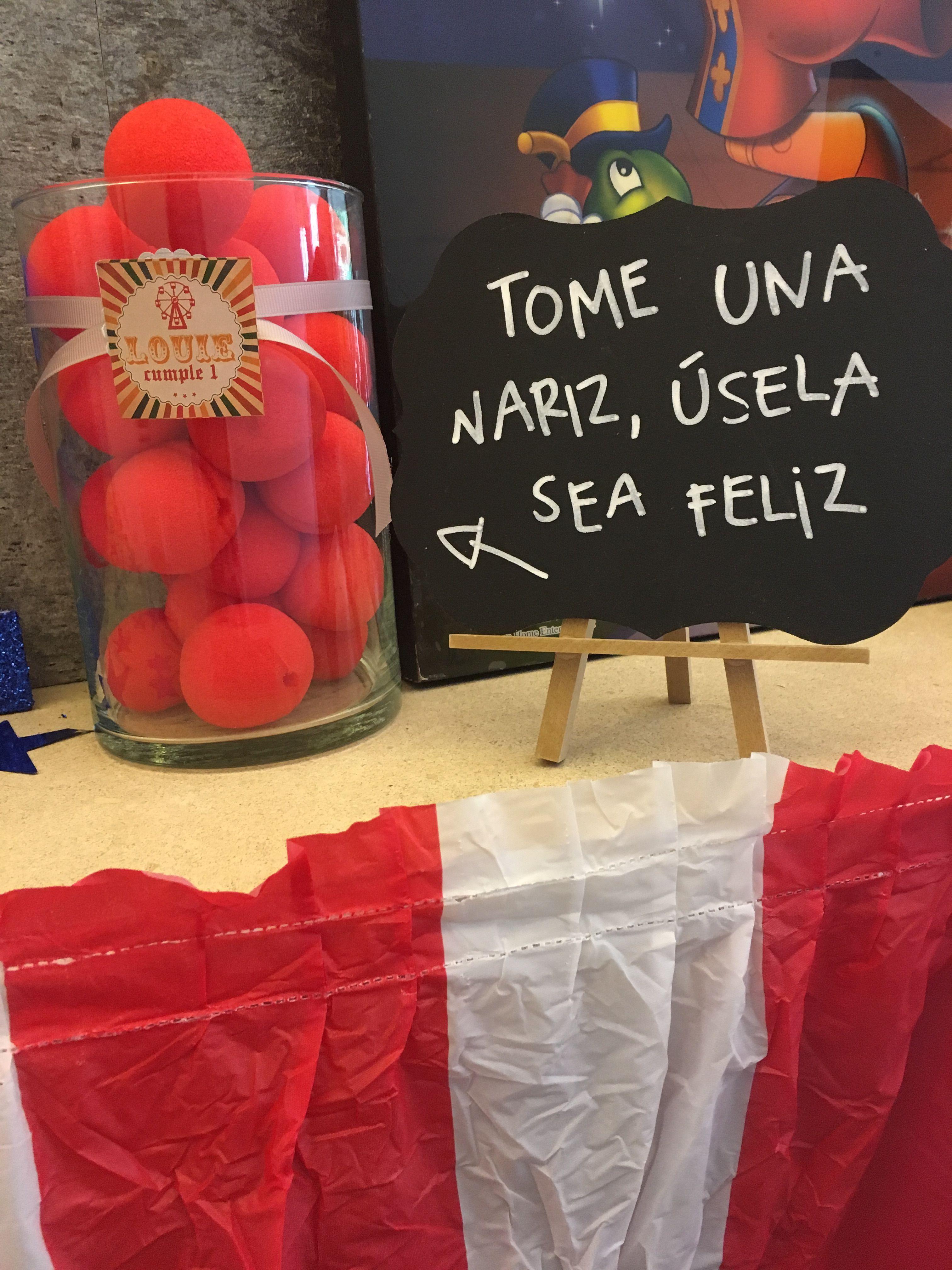 Circo ideas de fiesta louie 1st party en 2019 cumple - Ideas originales para fiestas de adultos ...