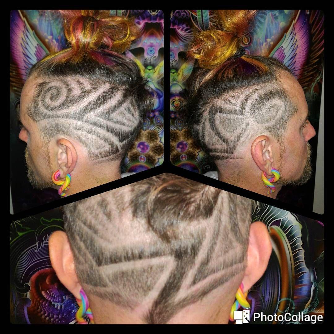 Fresh New Hair Tattoo From Familyfades Hair Tattoos Hair